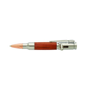 Mini Bolt Action 30 Caliber Chrome Pen Kit PKCP8210