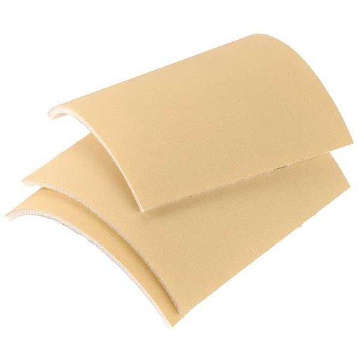 "View a Larger Image of Mirka Goldflex 4-1/2"" x 5"" Sanding Sheets, 320 Grit, 200 pack"