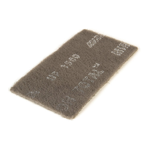 "View a Larger Image of Mirlon Total 4-1/2"" x 9"" Ultra Fine Scuff Pad (Gray), , 25 pads"