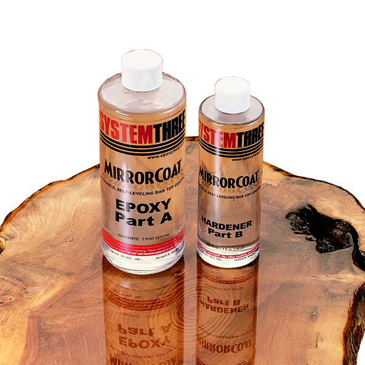 View a Larger Image of MirrorCoat System Three Top Coat, 1-1/2 Pint