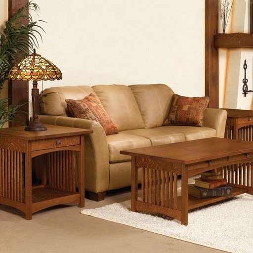 View a Larger Image of Mission Coffee and End Table - Downloadable Plan