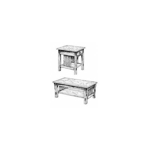 View a Larger Image of Mission Living Room Tables Woodworking Plan