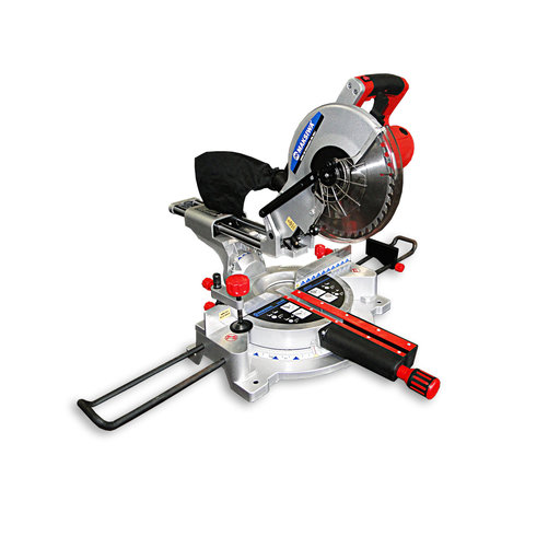"""View a Larger Image of Mitre Saw 10"""" Laser Guide, Dual Sliding Rail"""
