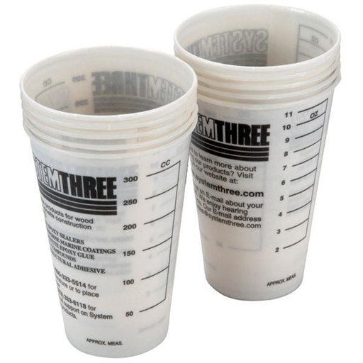 View a Larger Image of Mixing Cups, Graduated, 14 -oz, 10 piece