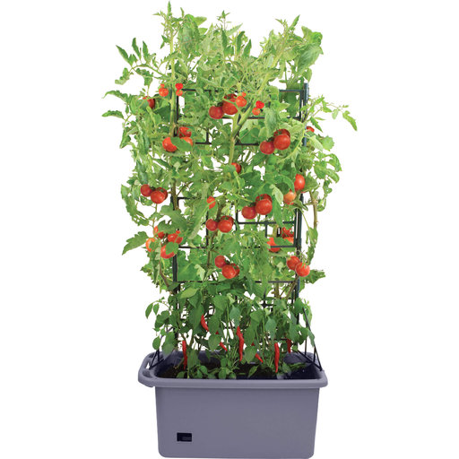"View a Larger Image of Mobile Mini-Garden Planter 29.5"" x 13.75"" x 52.75"""