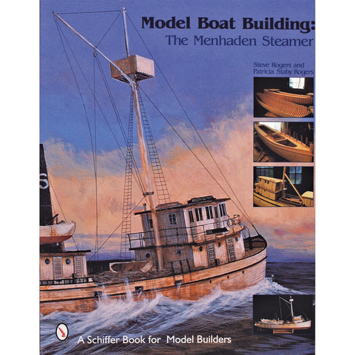 View a Larger Image of Model Boat Building, The Menhaden Steamer