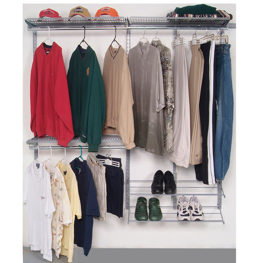 View a Larger Image of Modular Closet, Garage, and Laundry Organizer Kit