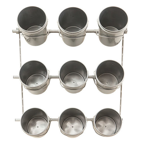 View a Larger Image of 9 Bucket Storage Rack