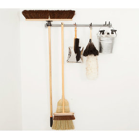 Cleaning Supplies Storage Rack