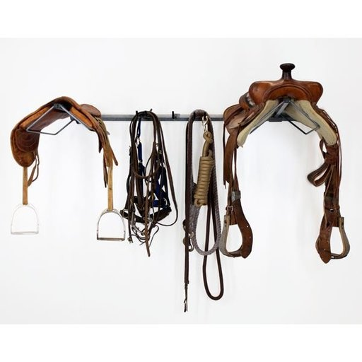 View a Larger Image of Double Saddle Rack