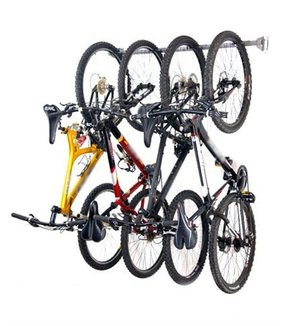 Four Bike Storage Rack