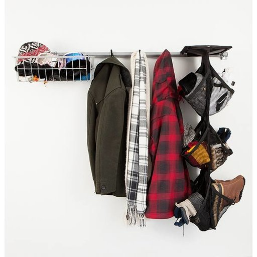 View a Larger Image of Garage Shoe Storage Rack