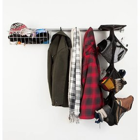 Garage Shoe Storage Rack
