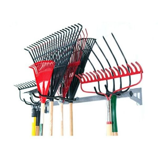 View a Larger Image of Rake Storage Rack