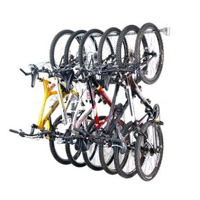 Six Bike Storage Rack