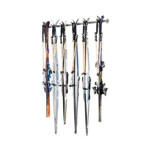 View a Larger Image of Six Cross Country Skis Storage Rack