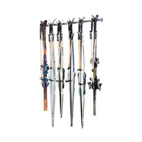 Six Cross Country Skis Storage Rack