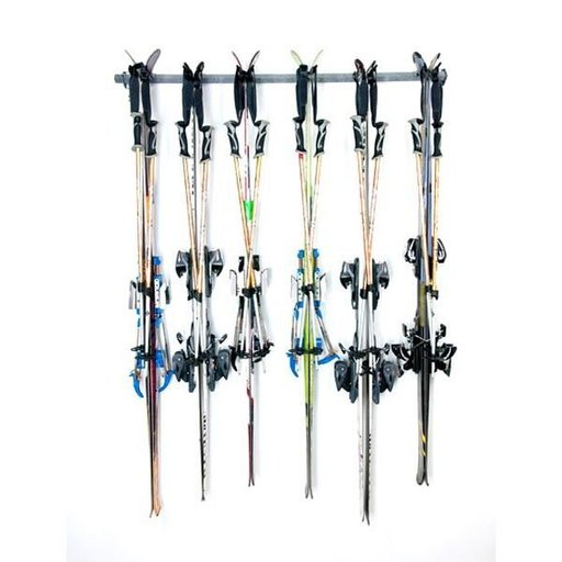 View a Larger Image of Six Ski Storage Rack