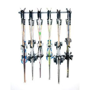 Six Ski Storage Rack