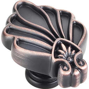 "Montclair Knob, 2"" O.L.,, Brushed Oil Rubbed Bronze"