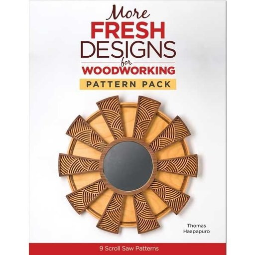 View a Larger Image of More Fresh Designs for Woodworking Pattern Pack