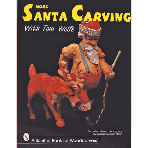 View a Larger Image of More Santa Carving with Tom Wolfe