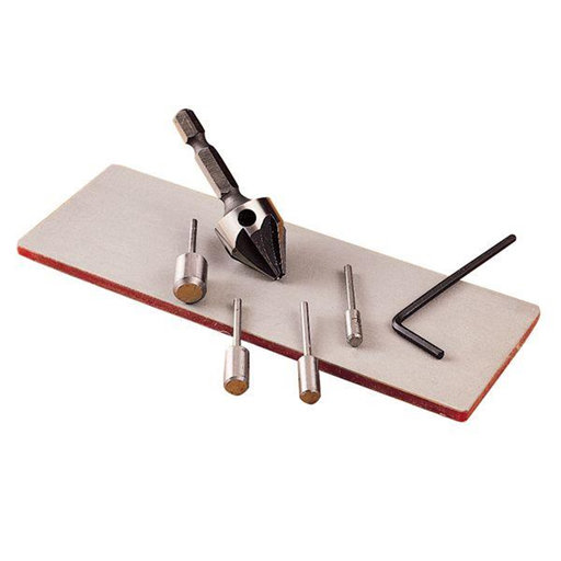 View a Larger Image of Mortise Chisel Sharpening KIt