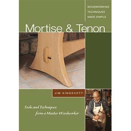 View a Larger Image of Mortise & Tenon: Tools and Techniques from a Master Woodworker (DVD)