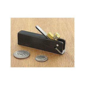 Ebony Miniature Rebate Plane