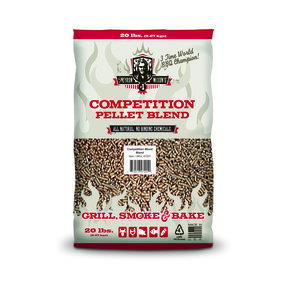 Myron Mixon Pitmaster Q3 Competition Blend Pellet Fuel, Pack of 3