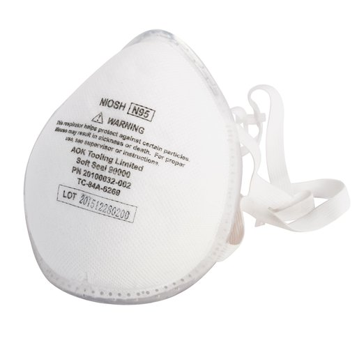 View a Larger Image of N95 Dust Mask, X-Large