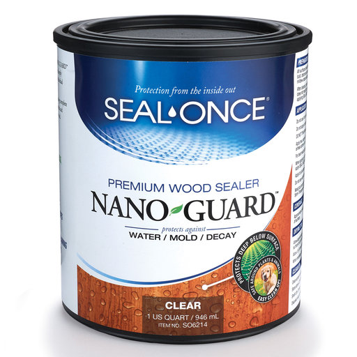 View a Larger Image of Nano-Guard Wood Sealer Qt