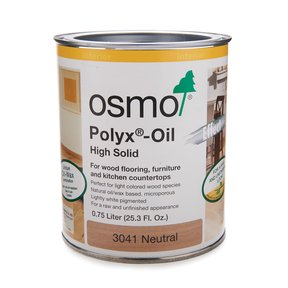 Neutral Clear Polyx-Oil 3041 Solvent Based .75 l