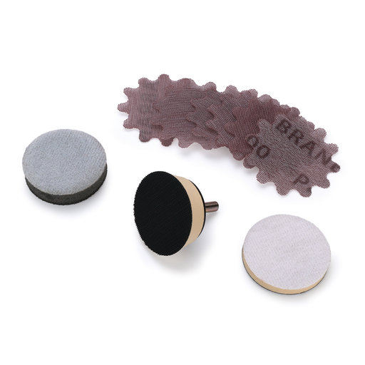 "View a Larger Image of New Wave 3"" Abranet Bowl Sanding Kit"