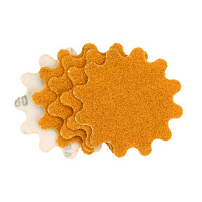 "New Wave Hi-Per Gold 2"" Sanding Disc 80 Grit 10 Pack"