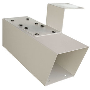 Newspaper Holder for Mail Boss Mailboxes, White