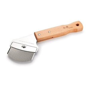 Nisaku Professional Weed Slicer with Stubby Wooden Handle