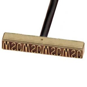Non-Electric Branding Iron, 10-12 Letters/Numbers
