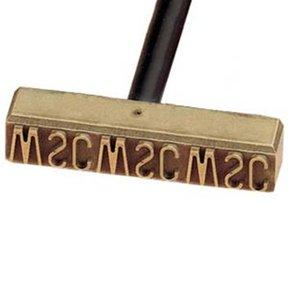 Non-Electric Branding Iron, 7-9 Letters/Numbers