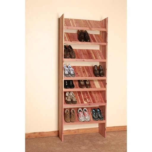 "View a Larger Image of 18"" Deluxe Solid Shoe Cubby Kit"