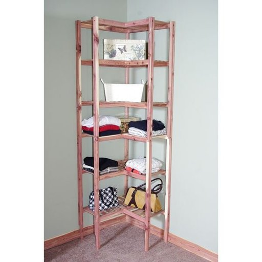 "View a Larger Image of 24"" Basic Corner Cubby"
