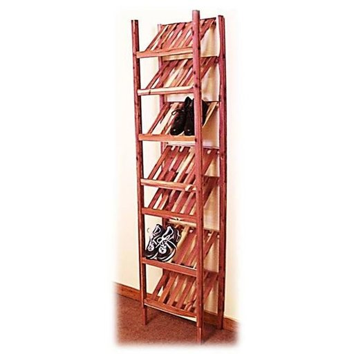 "View a Larger Image of 24"" Basic Ventilated Shoe Cubby Kit"