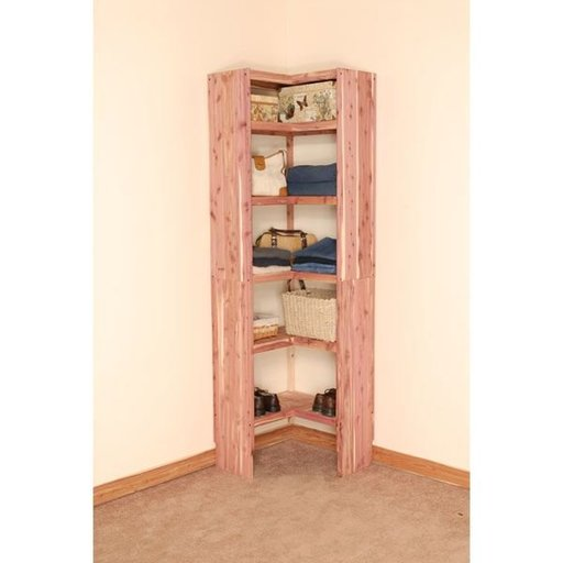"View a Larger Image of 24"" Deluxe Solid Corner Cubby"
