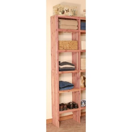 "View a Larger Image of 24"" Deluxe Solid Cubby Add-On Kit"