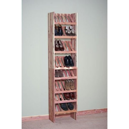 "View a Larger Image of 24"" Deluxe Ventilated Shoe Cubby Kit"
