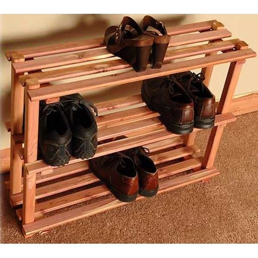 "View a Larger Image of 30"" Three Tier Shoe Rack"