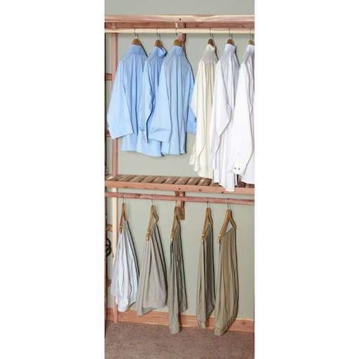 """View a Larger Image of 48"""" Basic Ventilated Hanging Kit"""