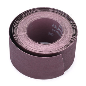 "3"" x 35 Ft Sanding Roll, 80 Grit"