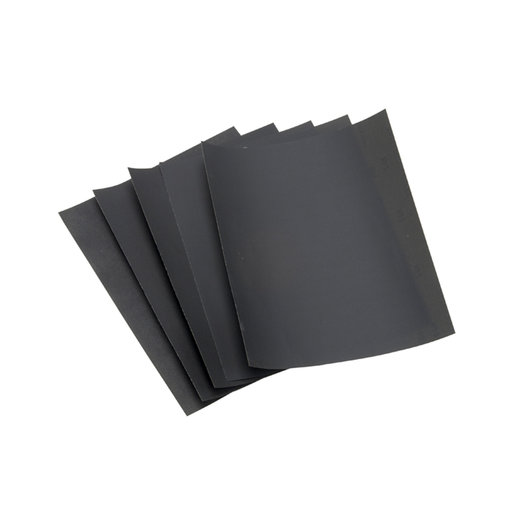 "View a Larger Image of 9"" x 11"" SandWet Sanding Sheets, 600 Grit, 5 pack"