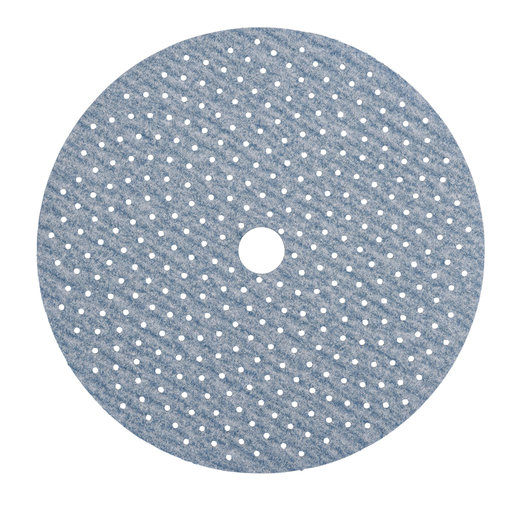 "View a Larger Image of ProSand MULTI-AIR 5"" Multi-Hole Pattern Hook & Sand Disc, 100 grit, 3 pack"